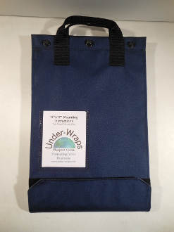 "11 x 17 Navy with 1 1/2"" Flap"